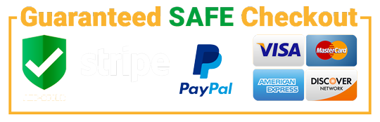 Secure and Safe Checkout by Stripe & PayPal